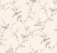 Callaway Cottage Floral Branches W/Bi Wallpaper CT0865 by York