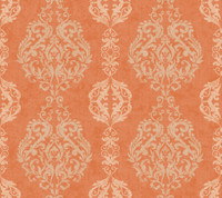 Botanical Fantasy Damask Stripe Wallpaper WB5433 by York