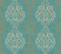 Botanical Fantasy Delicate Floral Branch Wallpaper WB5443 by York