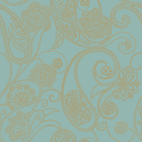 Candice Olson Shimmering Details Dotted Paisley Wallpaper CO2033DE by York