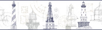 American Classics Architectural Lighthouse Border AM8649BD  by York