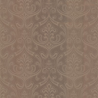 Anastaise Copper Ogee Damask