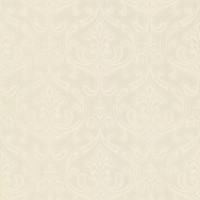 Anastaise Champagne Ogee Damask