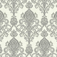 Bronze Linear Damask