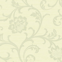 Cream Lace Acanthus Scroll