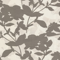 Brown Large Scale Floral