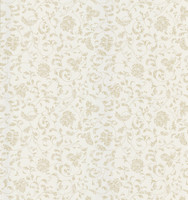 Bed Breakfast Taupe Jacobean Stencil