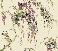 Watercolors RL9629 Gentle Cascade Wallpaper