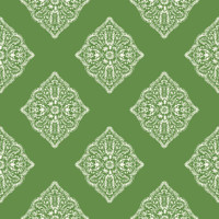 Tropics Henna Tile AT7029 Wallpaper