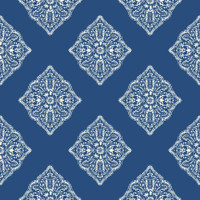 Tropics Henna Tile AT7030 Wallpaper