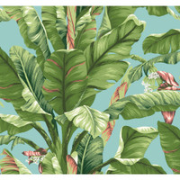 Tropics Banana Leaf AT7070 Wallpaper