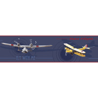 Border Portfolio II Airplane Border JE3602BD by York