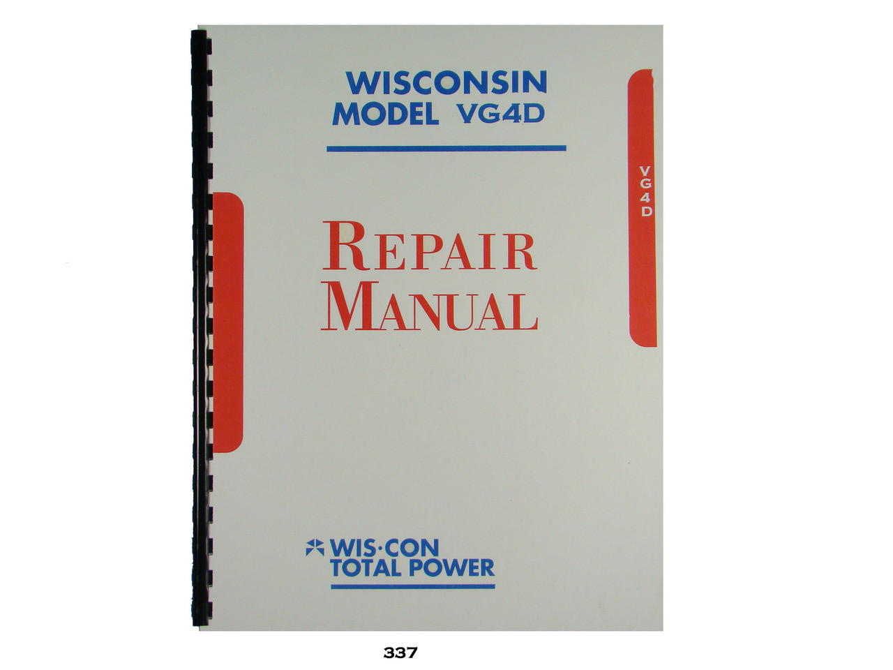 Free Wisconsin vg4d Service manual