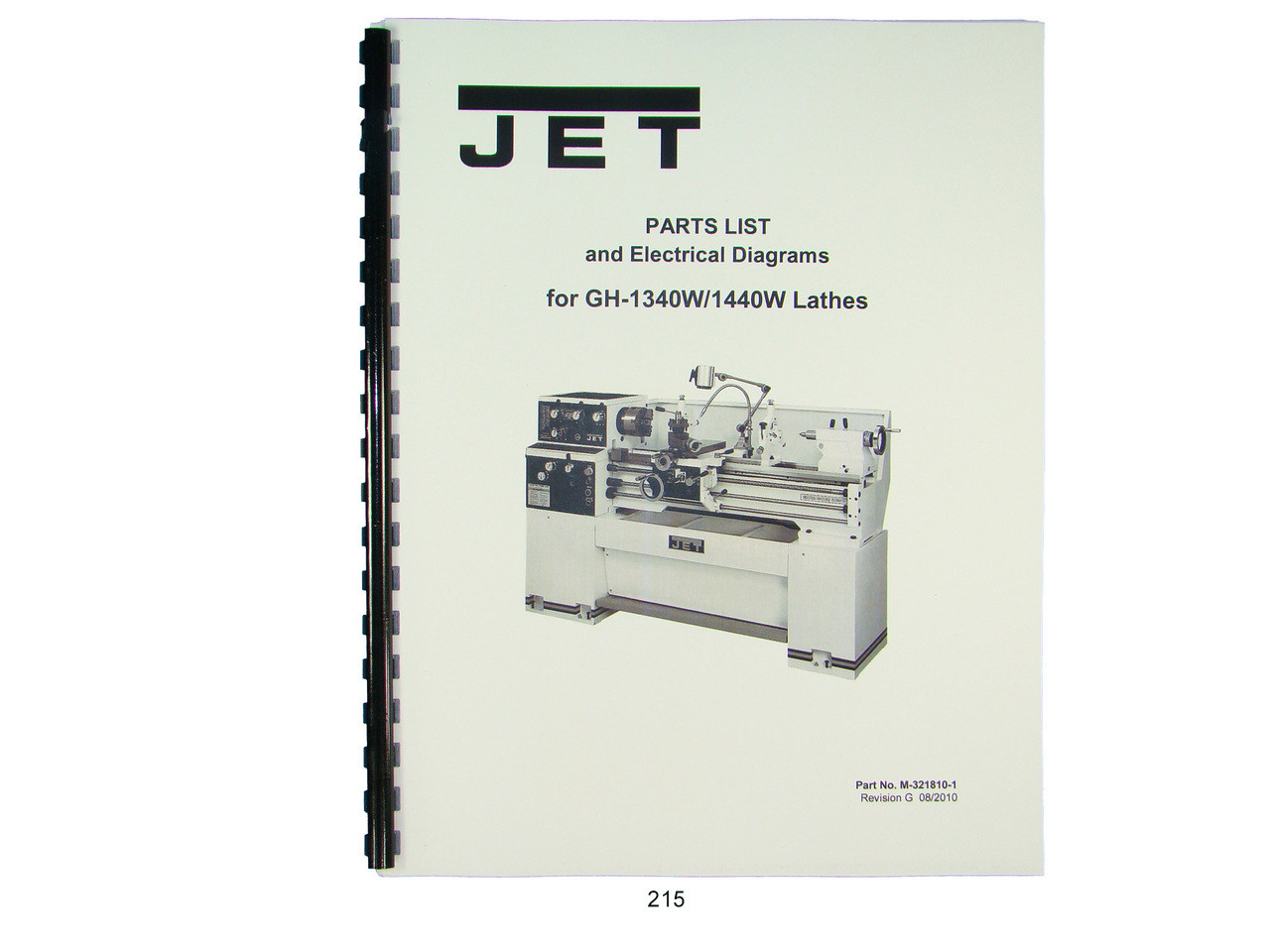 jet gh 1340w 1440w lathe parts list electrical diagrams
