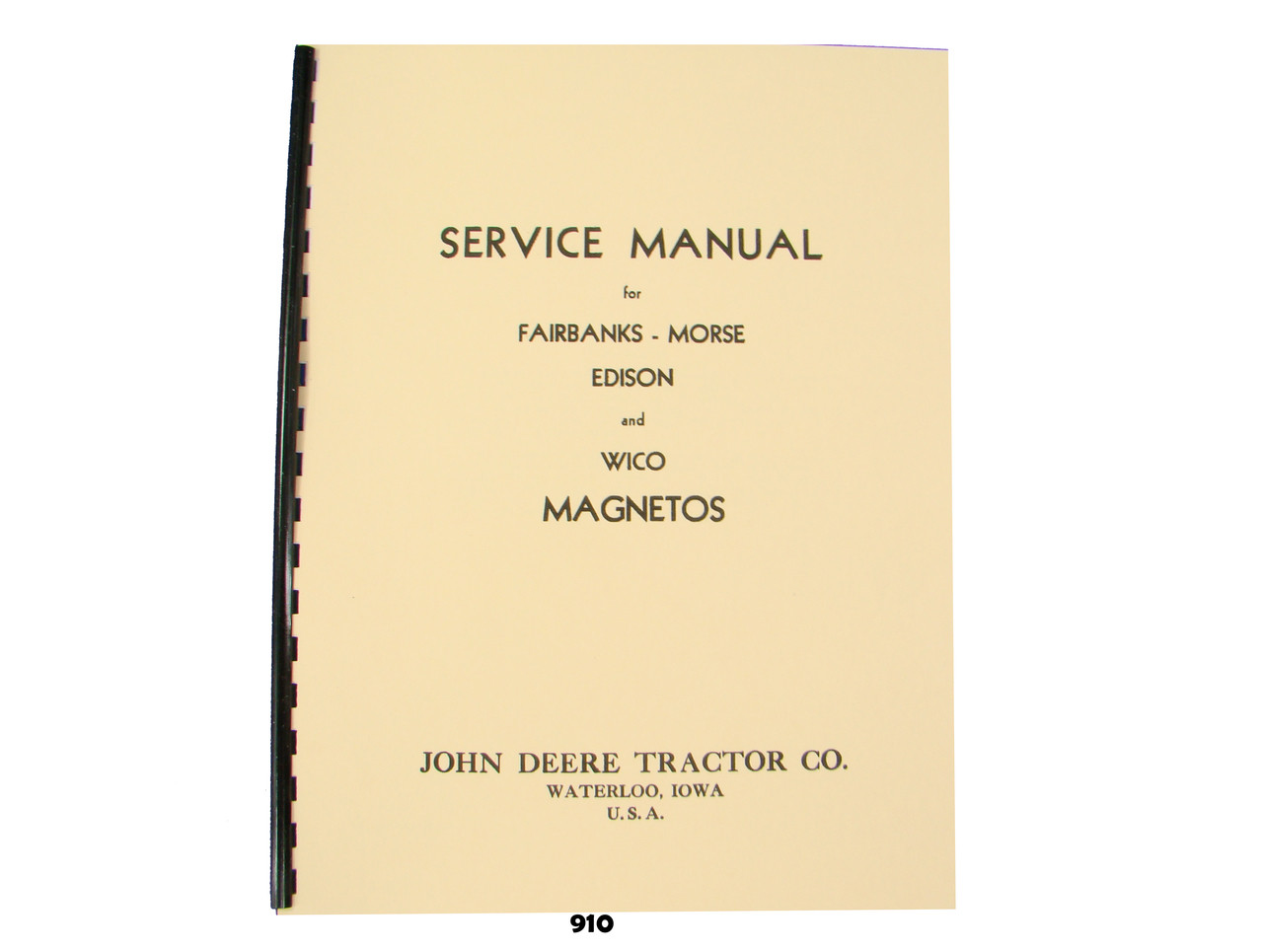Fairbanks Morse magneto Free manual Proxy