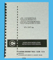 "Clausing Colchester 15"" s/n 31471 & up Lathe Instruction & Parts Manual *1224"