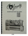 Grizzly Lathe 1479