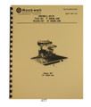 Delta Rockwell Radial Saw Cover 877