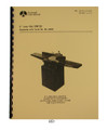 "Rockwell 8"" Long Bed Jointer Operator & Parts Manual #851"
