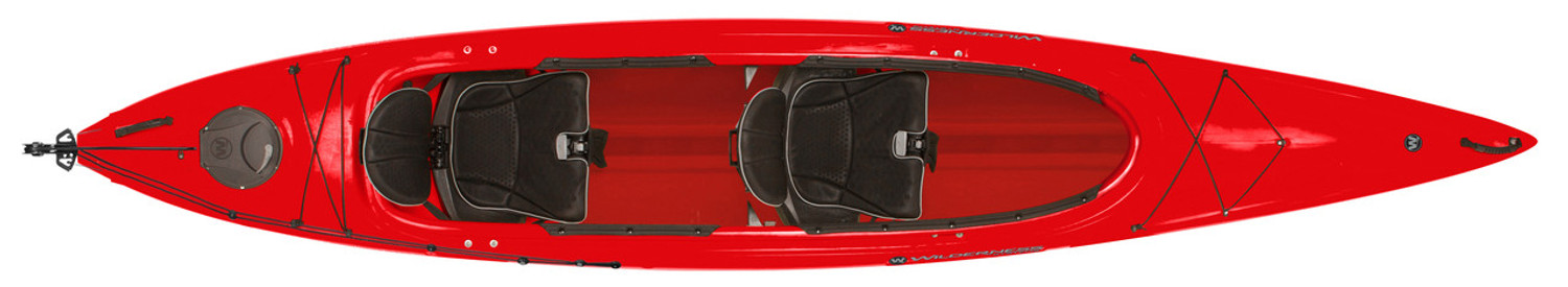 Wilderness Systems Pamlico 145T Tandem Recreational Kayak - Red