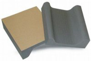 Knee Pads Canoe Pair with Adhesive by NRG