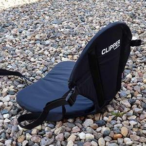 Canoe Backrest with Clipper Logo