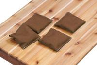 Gronomics-Brown-Bean-Bags-(Set-of-4)