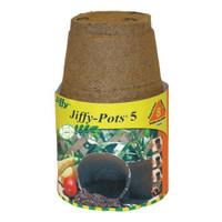 "Jiffy-Peat-Pots-5""-round"