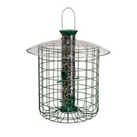 "Droll-Yankees-15""-Green-Domed-Cage-Sunflower-Feeder"