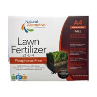 Natural-Alternative-Lawn-Fertilizer-(21-0-4)-A4-Fall-Application