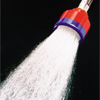 Dramm Carded Ultra Soft Shower Water Breaker W/1000 Holes Red