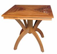 Teak-Pedestal-Table-31in-Sq-by-Regal-Teak