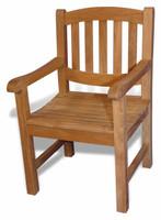 Teak Furniture Teak Boston Single Oval