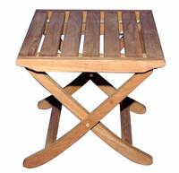Teak Furniture Teak Foot Stool or
