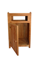 Teak Furniture Teak Litter Receptacle
