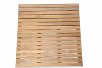 Teak Furniture Spa  Bath Mat