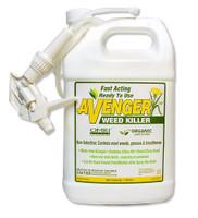 AVENGER Weed Killer for Organic Gardening, RTU 1 Gallon NON-TOXIC