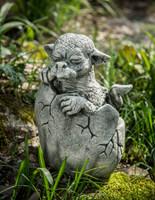 Campania Stone shelley creature statue.