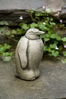 Campania Stone penguin statue.
