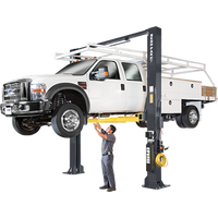 BENDPAK XPR-18C 18,000 Lb. Capacity, Clearfloor, Standard Arms Two Post Lift ( FREE FRAME CRADLE PADS )