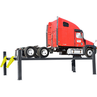 BENDPAK HDS-27X 27,000-lb. Capacity Four-Post Extended Length Truck Lift