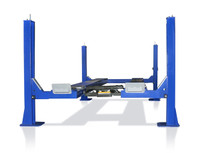 TUX  FP14KO-A Four Post Alignment Lift - Cable Driven Open Front 14,000lb
