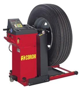 Corghi ET66m/WL140 HD Truck Wheel Balancer w/Lift