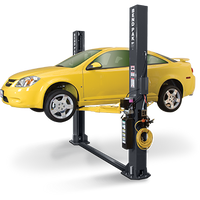 BENDPAK XPR-9 Dual-Width, 9,000 Lb. Capacity, Floor Plate, Chain-Over, Short Lift Two Post Lift