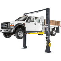 BENDPAK XPR-12C 12,000 Lb. Capacity, Clearfloor, Triple-Telescope Arms-All Four Two Post Lift