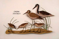 Stilt and Sandpipers Wall Art