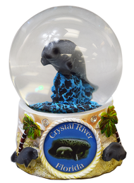 Manatee Snow Globe 65mm