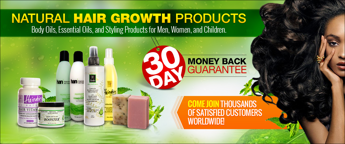 Natural Hair Products, Hair Growth Products For Men And