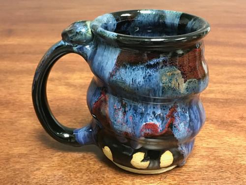 Cosmic Mug, roughly 14-15oz size, Inspired by a Planetary Nebula (SK138)