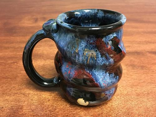 Cosmic Mug, roughly 15-16oz size, Inspired by a Planetary Nebula (SK156)